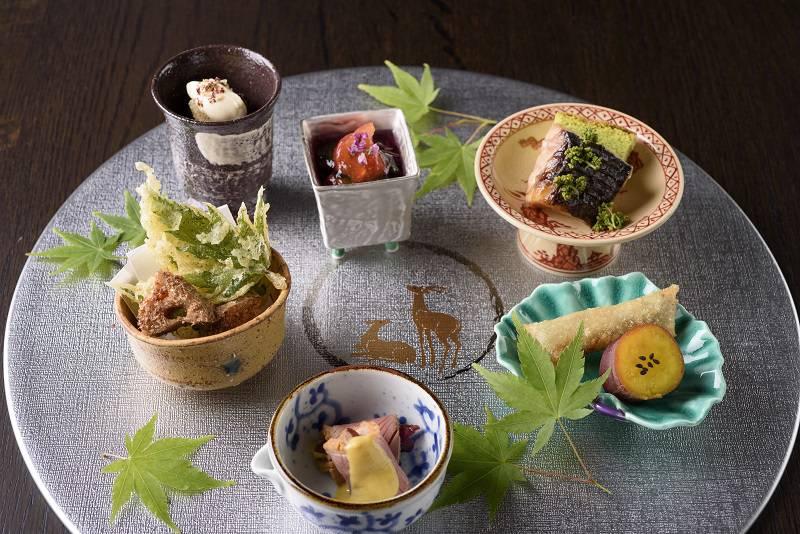 日本料理 霜月御献立
