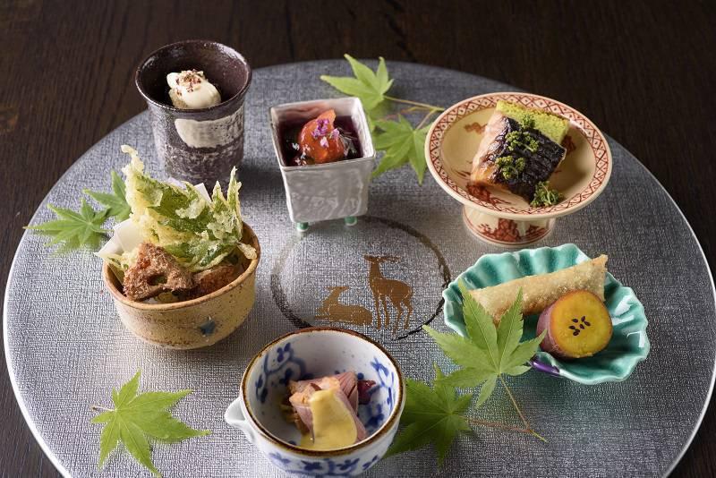日本料理 皐月 御献立