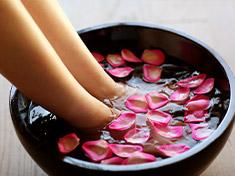 特定的 植物芳香療法的身體保養
